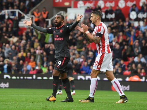 Arsene Wenger suggests penalty conspiracy exists against Arsenal following defeat to Stoke