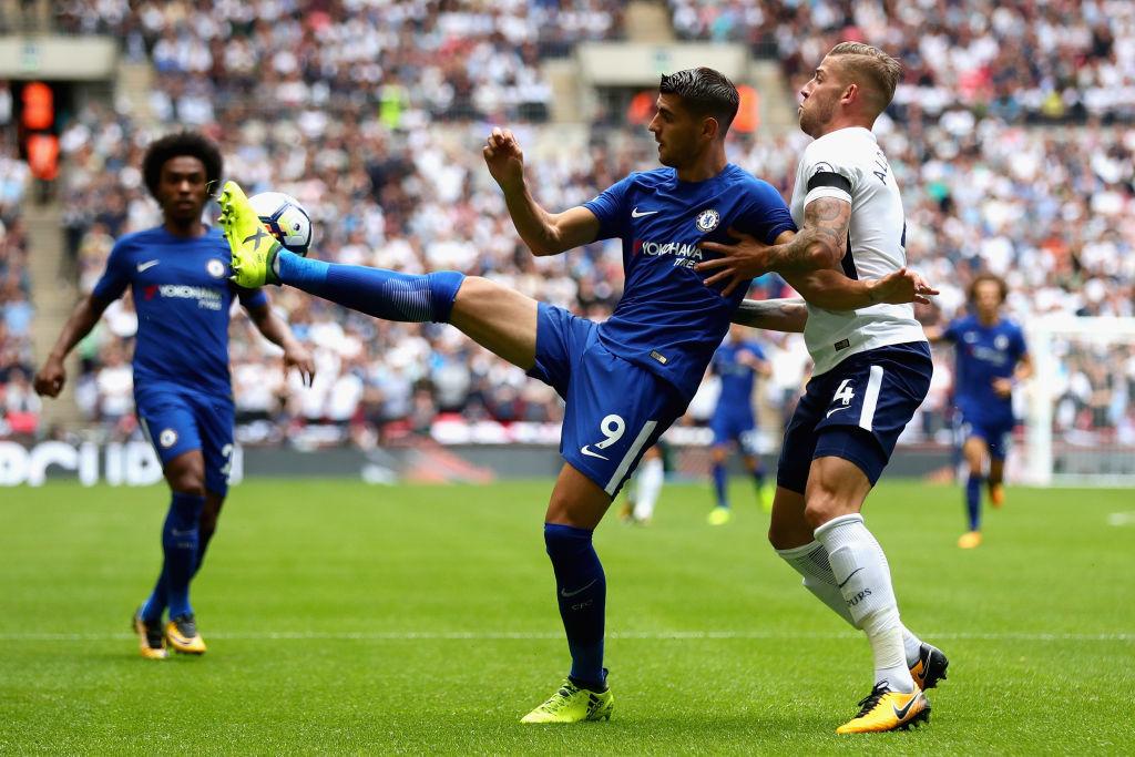 Manchester United fans mercilessly troll Alvaro Morata for first touch against Tottenham