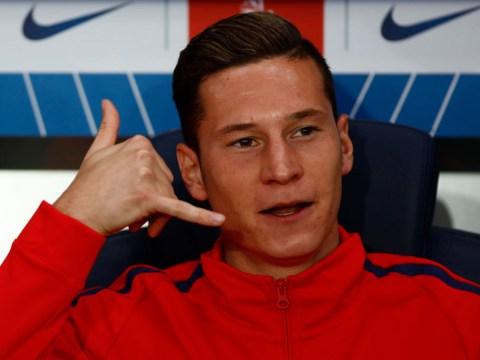 Julian Draxler sends Arsenal fans into meltdown after dropping 'transfer hint' on Instagram