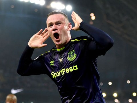 Wayne Rooney sends message to Manchester United fans after scoring for Everton against Manchester City
