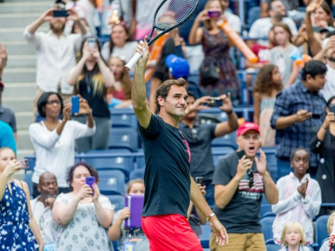 Quality US Open moment perfectly captures Roger Federer's global pull