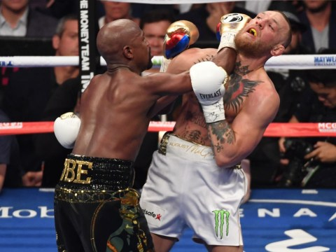 Floyd Mayweather praises Conor McGregor after stopping UFC star