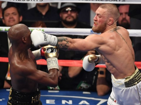 Conor McGregor landed 30 more punches than Manny Pacquiao did against Floyd Mayweather