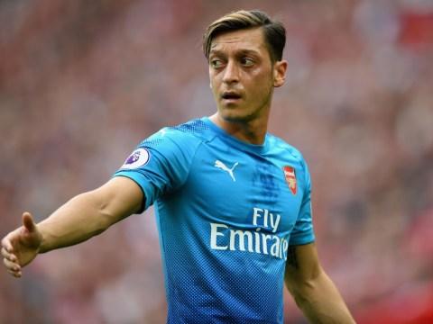 Barcelona eyed transfer of Arsenal's Mesut Ozil earlier this summer