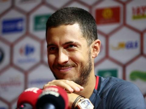 Chelsea star Eden Hazard jokes he's command a higher transfer fee than Neymar