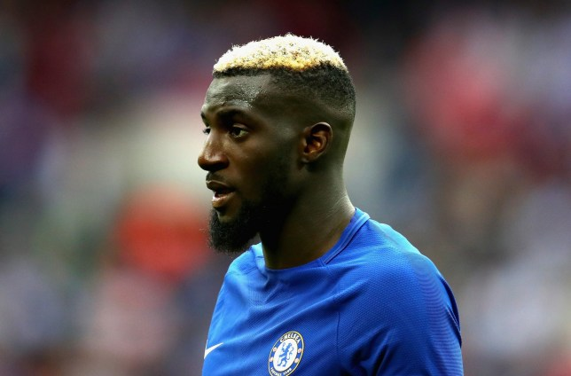 LONDON, ENGLAND - AUGUST 20: Tiemoue Bakayoko of Chelsea looks on during the Premier League match between Tottenham Hotspur and Chelsea at Wembley Stadium on August 20, 2017 in London, England. (Photo by Chris Brunskill Ltd/Getty Images)