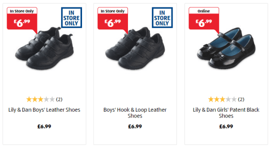 88a70a27febfb In Aldi a pair of leather shoes will cost around £6.99 (Picture: Aldi)