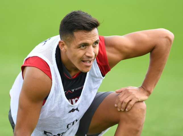43030ba87 Alexis Sanchez has refused to sign a new contract at Arsenal (Picture   Getty)