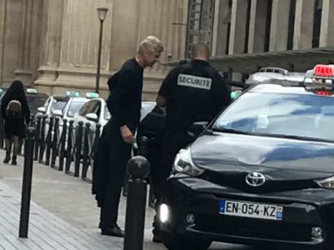 Arsenal's Arsene Wenger spotted in Paris amid latest Thomas Lemar transfer rumours