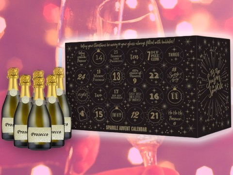 A prosecco advent calendar is here, and we're so ready for Christmas