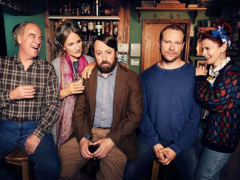Here's a sneak peek at the new David Mitchell and Robert Webb show Back