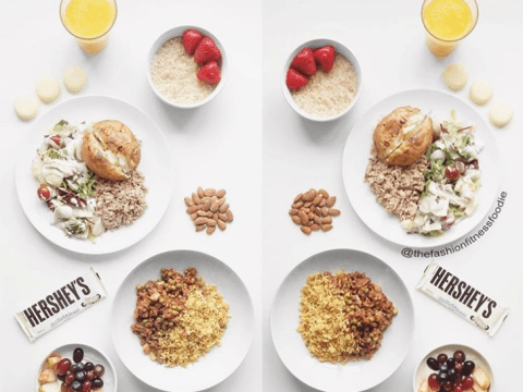 Meet the 'No BS' food comparison blogger who is re-educating people on what calories look like