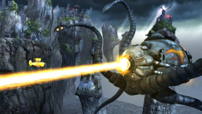 Sine Mora EX (PS4) - ease yourself into bullet hell