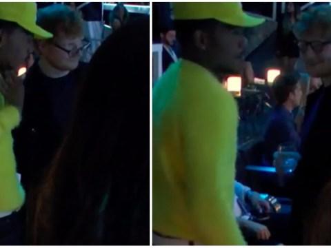 Ed Sheeran and Chance the Rapper had the biggest bromance at MTV VMAs