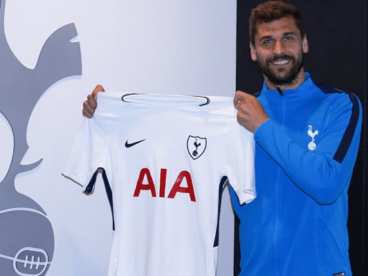 Official: Tottenham beat Chelsea to Fernando Llorente transfer