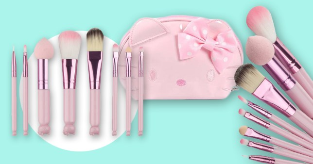 4763f2d3a Miniature Hello Kitty makeup brushes are here and we re in love ...