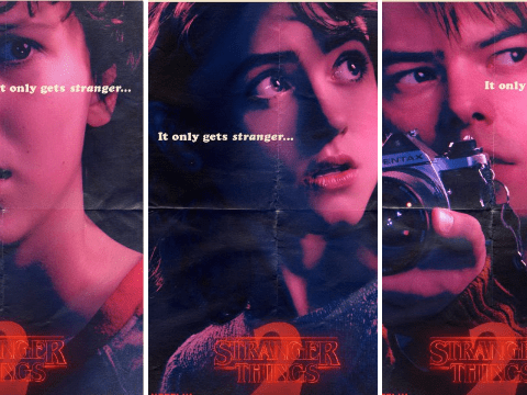 New posters for Stranger Things season two show off two new characters