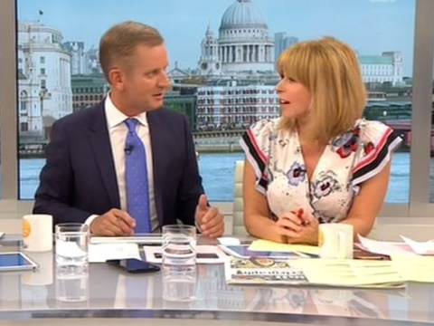 GMB's Kate Garraway admits her husband asked if she was having an affair with Jeremy Kyle