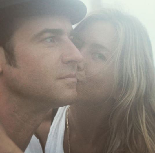 Justin Theroux shares rare candid snap with wife Jennifer Aniston and it's beautiful