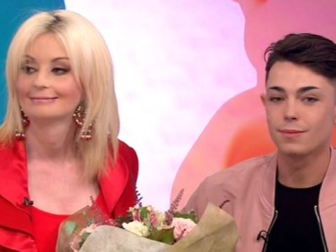 Lauren Harries introduces new toyboy to the Loose Women after meeting him on Twitter