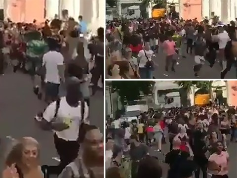 'Acid attack' on crowd at Notting Hill carnival