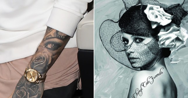 Liam Payne's eye tattoo means Cheryl has 'got her eye' on ...