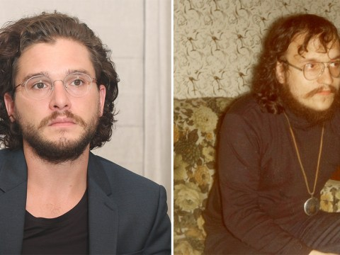 Game Of Thrones' Kit Harington looks eerily similar to George RR Martin in his youth and fans are going bonkers