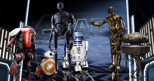 What droids will we see in Solo