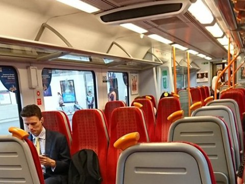 London's trains are eerily quiet this morning despite Waterloo closures
