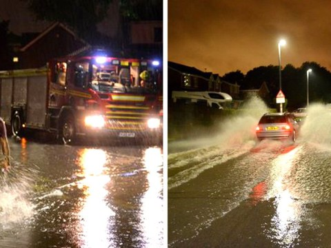 Flooding across parts of Britain with more heavy rain on its way