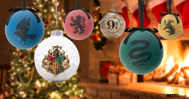 Fill This Christmas With Magic With These Glittery Harry Potter