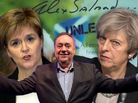 Calls for Alex Salmond to apologise for joke about making Nicola Sturgeon orgasm