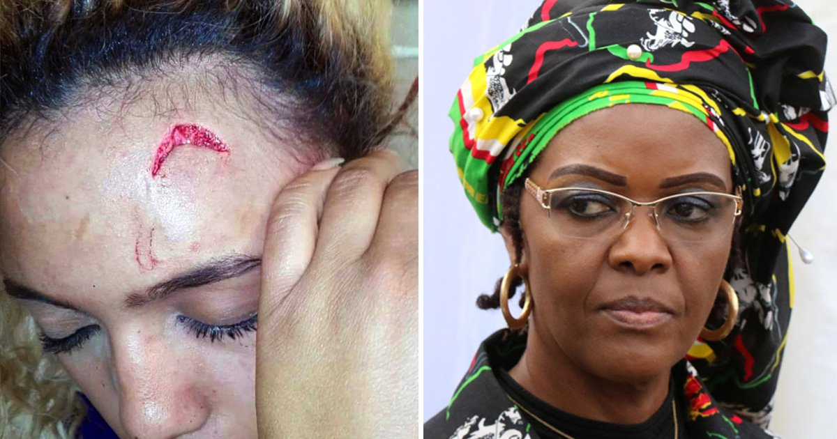 Robert Mugabe's wife wants to claim diplomatic immunity for 'assault on model'