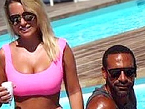 Rio Ferdinand goes public on social media with girlfriend Kate Wright