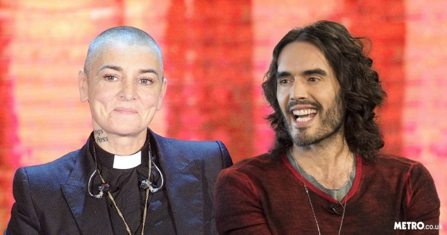 Sinead O#Connor and Russell Brand