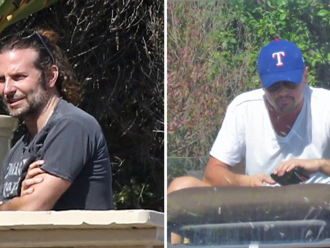 Bradley Cooper and Leonardo DiCaprio spent the weekend hanging out together – because of course they did