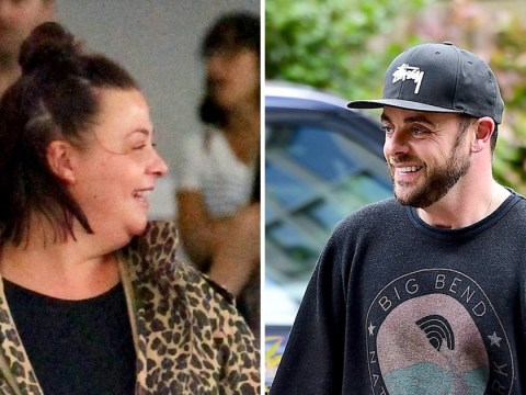 Ant McPartlin looks happy and healthy as he reunites with wife Lisa post-rehab