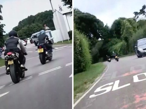 Biker recorded his own death when he pulled a wheelie that went horribly wrong