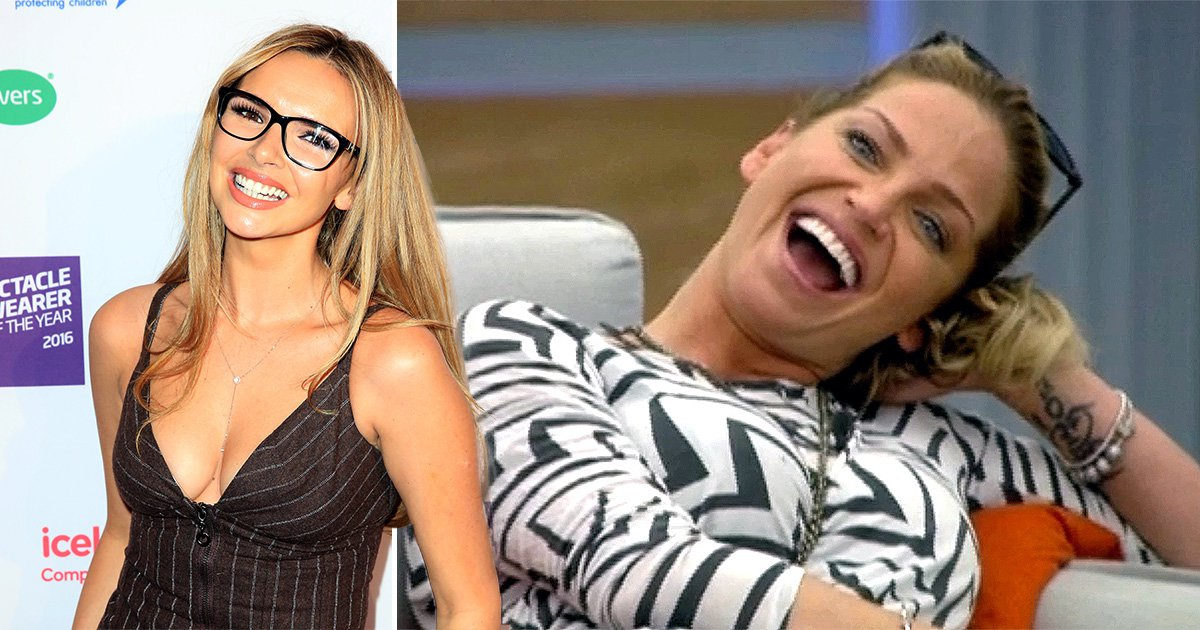 Nadine Coyle ferociously defends 'natural being' Sarah Harding against Celebrity Big Brother critics