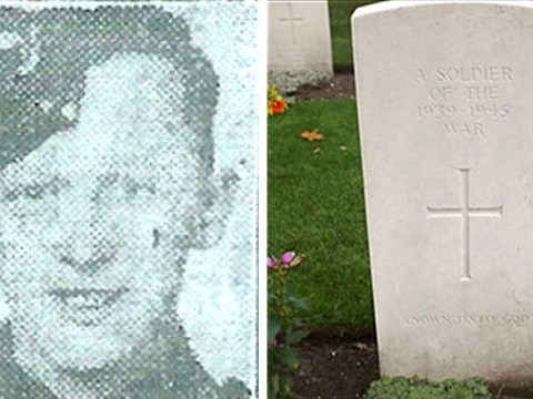 Soldier killed in World War Two in 1944 has been named for the first time