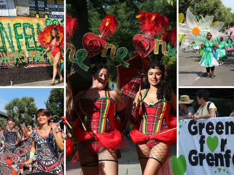 Hundreds of thousands of people turn out for Notting Hill Carnival's second day