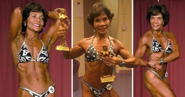 71-year-old isn't letting her age stop her from having seriously impressive abs