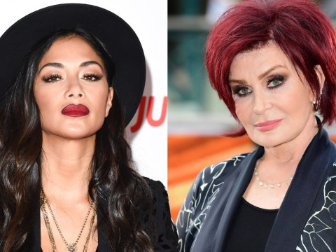 Not happy families: Sharon Osbourne clashes with Nicole Scherzinger in fierce X Factor rivalry