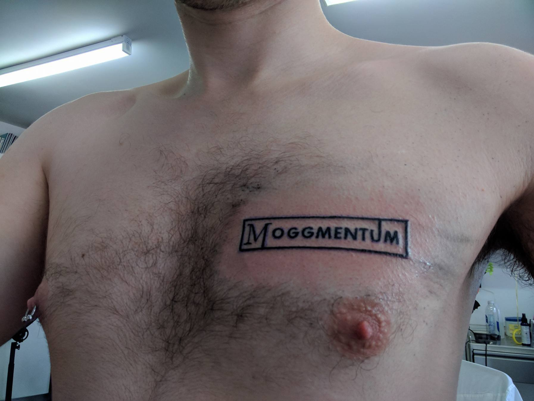 Guy gets tattoo to show how much he loves Jacob Rees-Mogg