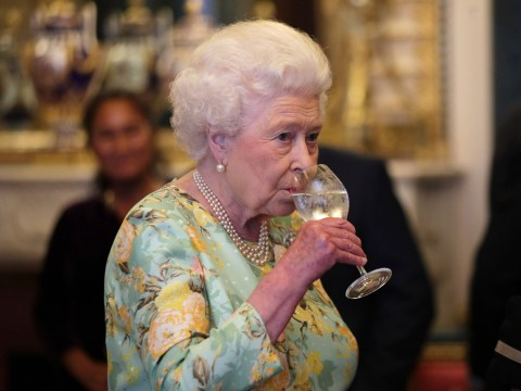 The Queen cracks open the gin before lunch every day