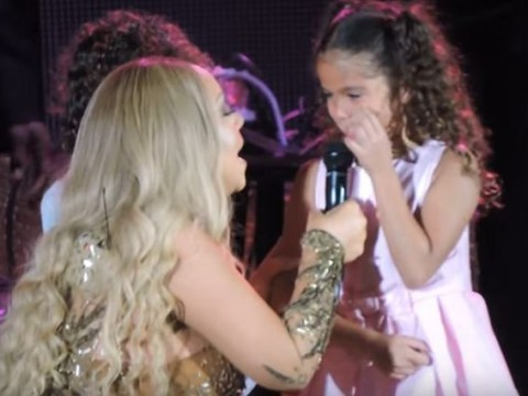Mariah Carey sang Always Be My Baby live on stage with her daughter and we're melting