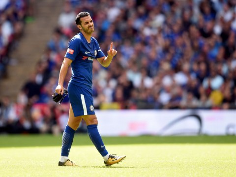 Pedro deserved a red card for 'shocking challenge' in Community Shield, says ex-Chelsea striker Chris Sutton
