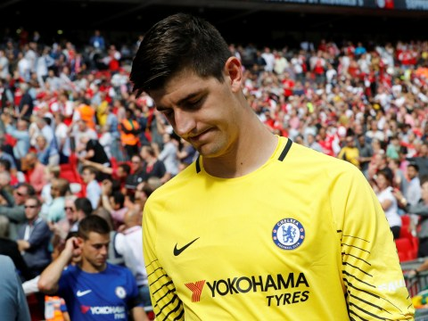 Petr Cech explains why he thinks Thibaut Courtois missed his Community Shield penalty