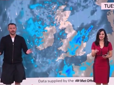Will Young dashes hopes of ever being a weather presenter with car crash appearance on Sky News