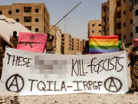 These gay guerrillas fighting Isis have a message for Stockholm Pride